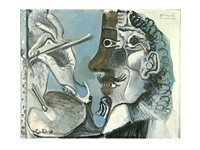 le peintre by pablo picasso