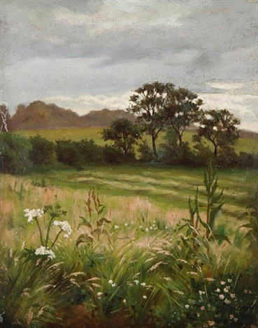 summer landscape by frederick william jackson