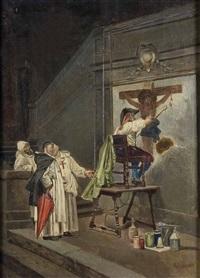 supervisando al pintor by eduardo zamacois y zabala