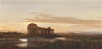 tempel hera in paestum by marie ertl