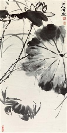 荷蟹图 by xiao longshi