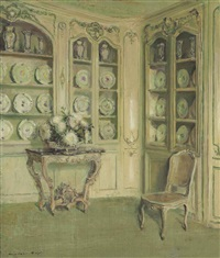 porcelains, château du bréau by walter gay