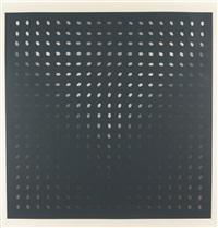untitled (nineteen greys d) (s. 8d) by bridget riley