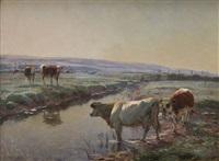 un matin de septembre dans la vallée de durdent by léon barillot