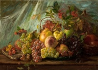 bodegón de frutas by julia alcayde y montoya