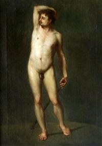 académie d'homme by frédéric bazille