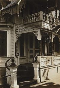 19th century gingerbread house, oak bluffs, massachusetts by walker evans
