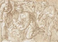 l'adoration des bergers by pseudo gherardi