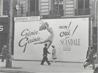 scandale, paris by ilse bing