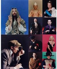 «жизнь замечательных монро» (set of 10) by vladislav mamyshev-monroe