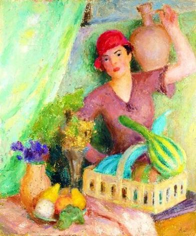 kwiaciarka by mieszko mieczyslaw jablonski