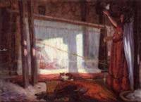 the clothmakers by alphonse léon germain-thill