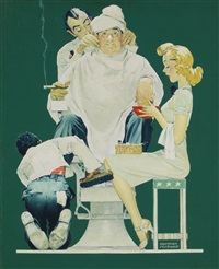 full treatment by norman rockwell