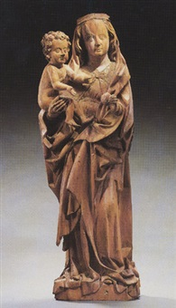 the virgin and child by hans multscher