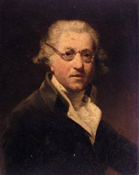 portrait of sir joshua reynolds by john jackson