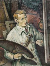 self-portrait by boris kolev