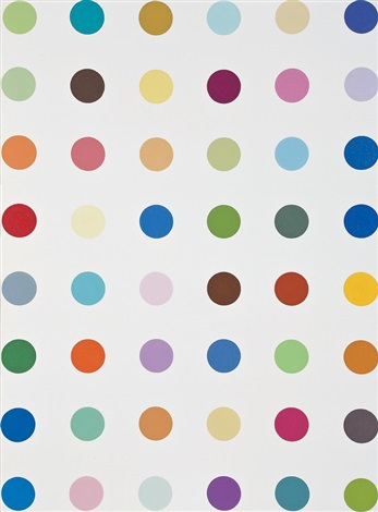 chlorogenic acid 綠原酸 by damien hirst