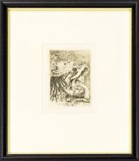 le chapeau épinglé (la fille de berthe morisot et sa cousine) by pierre-auguste renoir