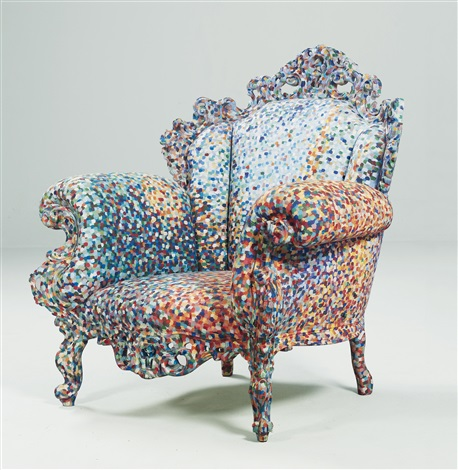 poltrona di proust armchair by alessandro mendini