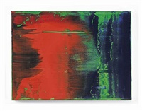 grün-blau-rot by gerhard richter
