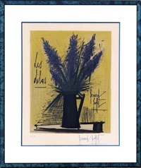 bouquet de lilas by bernard buffet