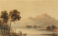 lower lake, killarney by john claude bosanquet