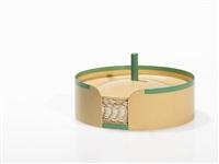 round lidded box by marianne brandt