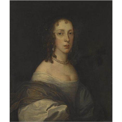 portrait of a lady said to be jane lane lady fisher by john hayls