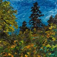 hillside with blue sky by william goodridge roberts
