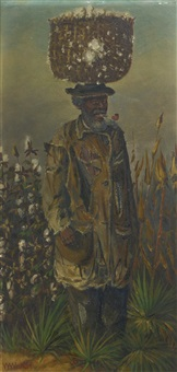 in the cotton field by william aiken walker