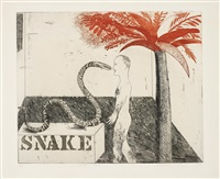 jungle boy by david hockney