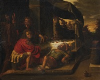 noah's drunkenness by michael sweerts