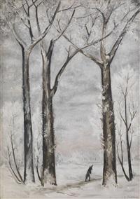 hiver by natalia sergeevna goncharova