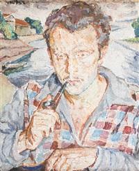 portret młodego mężczyzny by maria-mela muter