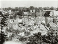view of ossining, new york by walker evans
