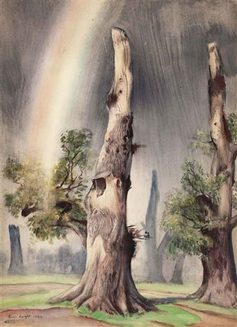 a rainbow by dame laura knight