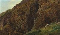 klippeparti zermatt by janus andreas barthotin la cour