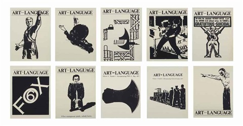 untitled ten posters in 10 parts by art language