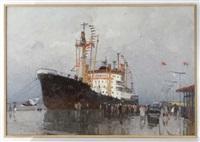 the ship arriving by nikolai galakhov