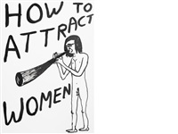 how to attract women by david shrigley