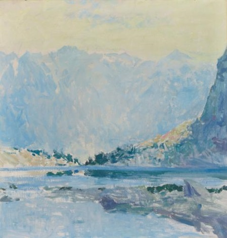 mountain lakes by guy rose