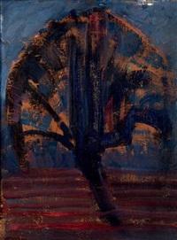 le saule bleu by piet mondrian