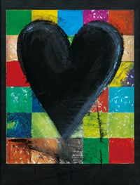 the colourful wall by jim dine
