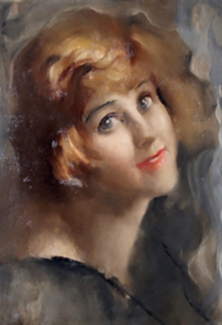 ritratto di donna by ambrogio antonio alciati