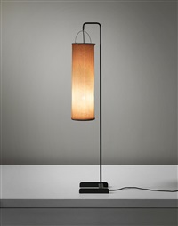 rare standard lamp by ejnar larsen and aksel bender madsen