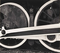 steam locomotive, california by brett weston