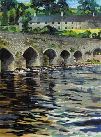 slane bridge county meath by liam ó broin