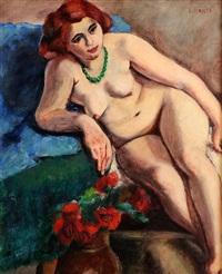 nude study by renee honta