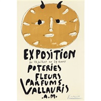 première affiche vallauris/first poster vallauris by pablo picasso