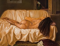 nudo di donna by giovanbattista de andreis